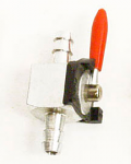 Fuel Line Inline Straight Shutoff Valve