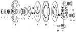 4. EXP-D Belt Drive Drum, 16t 20x8mm