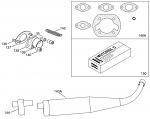 136. 10358 IAME Mini Swift Exhaust Stud Bolt M6x34