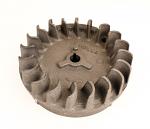 23. Early Style Cast Iron Animal Flywheel