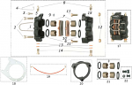 FBN.00177 CRG Rear Brake Caliper Plate Ven04, Fits 3 Bolt Cassette