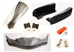 CIK FP7 Complete CIK Bodywork Kit EVO STILO Pods with Hardware