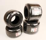 "Evinco SKH Blue 4.60/7.10x5"" Slick Kart Racing Tire Set"