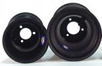 """705-179 Douglas Black 1-Piece Wheel 5""""x5"""""""
