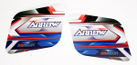 Arrow X2 Fuel Tank Stickers for 6 Liter Tank