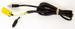 Mychron 4 2T Patch Cable, One Black, One Yellow End