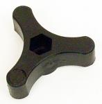 Plastic Hand Pommel for Fuel Tank Bracket with Bolt