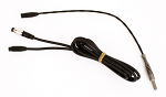 Mychron 5mm Water Temp BLACK Sensor with Patch Cable, Two Piece
