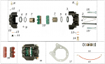 12. AFN.00360 CRG M5 Self Locking Metal Nut