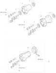 3. 10.10236.00-OR Birel Rear Wheel Hub, Magnesium 50mm x 96mm HQ