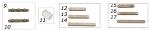 14. AFS.00665 CRG Flat Key 8x7x80mm