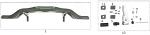13. FK0.0169832 CRG Rear Bumper Hardware, 32mm Frame