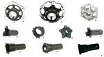 4. SL2.N0238 CRG Rear Brake Disk Hub Ven04 50mm Axle