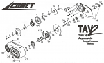 16. 216168A Comet TAV2 30 Series Optional Yellow Torsion Spring