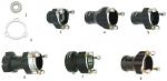 8. FMN.01773 CRG Wheel Hub Long 100cc, 25mm Bearing