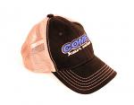 Comet Kart Sales Black and Khaki Mesh Snap Back Vintage Hat
