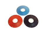 Aluminum Solid Blue Flywheel Cover