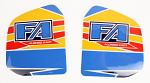 0073.XBDF OTK FA Kart 2013 Fuel Tank Stickers