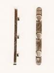 Arrow 30mm Axle Key, Three Peg Plated Key