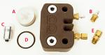 "MCP A. 1378 Rear Caliper Piston with O-ring, 1.370"" Diameter"