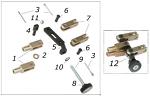 4. SBN.00335 CRG Master Cylinder Pivot