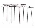 33198 Standard T Handle Allen Wrench Set