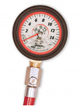 52034 Longacre 0-15lbs Tire Gauge with Bleeder