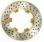 Margay Brava Vented Brake Disk with Drill Holes, Lighter
