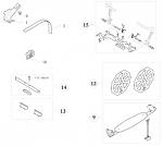 12. 6880.00.01-BL Birel Alignment Plates Set MTS
