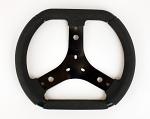 KG Karting Flat Top Rubber Grip Steering Wheel