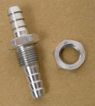 Aluminum Return Line Fitting for Fuel Tanks