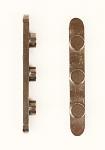 0057.D0 OTK Three Peg Key for 50mm OTK Axle