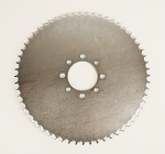 #8249 60 tooth #40 Steel, One Piece Sprocket