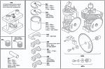 (650) IA-10110-A Leopard Crankshaft Assembly Kit