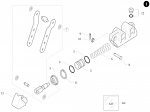 7. 10.10242.00 Birel Double Pump Lever Assembly