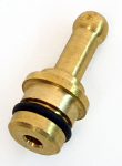 Brass Fuel Tank Fitting for Return Line or Vent Tube