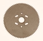 #9485 72 tooth #35 Steel, One Piece Sprocket, Slotted Holes