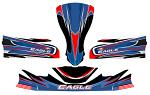 Eagle Kart KG FP7 CIK Bodywork Complete Sticker Kit - SPECIAL ORDER