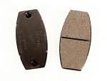 MCP Green Rear Brake Pads for Aluminum Disc