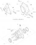 2. 6016.00.01 Birel 25mm Brake Disc Hub, Cast Aluminum