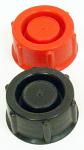Plastic 7.5 Liter Righetti Fuel Tank Cap, Black
