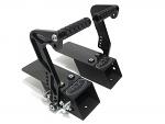PKT Pedal Heel Risers with PKT Billet Pedals