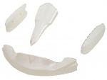 CIK OTK M4 Adult Bodywork Kit NO Nose Hardware, Pearl White