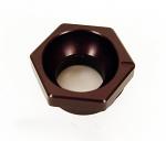 Arrow Black Aluminum Adjuster Pill, Less offset than Standard Arrow Pill, 10mm