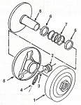 *1. 203021A Comet Cover and Drive Plate