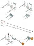 V. 0119.07 Tony Kart OTK Central Peg for BS5 Lengthening Arms