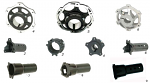 4. SL2.N1250 CRG Rear Brake Disk Hub Ven04 40mm Axle