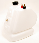 KG 8.5 Liter Plastic Fuel Tank with Antislosh Shelf