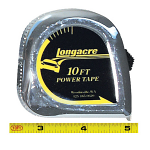 50870 Longacre Standard Tape Measure, Inches