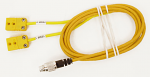 Mychron 4, 5 2T Double Yellow Patch Cable